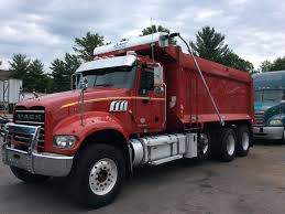 USED 2013 MACK GU713 DUMP TRUCK FOR SALE #6831