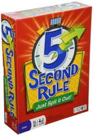 3 5 Second Rule Just Spit It Out