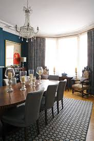 Dining Room Example Of An Ornate Design In London Fascinating