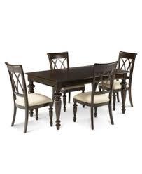 bradford 5 piece dining room furniture set furniture macy s
