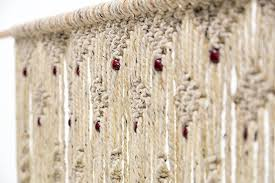 Amazon Hand Woven Macrame Door Hanging Room divider Beaded