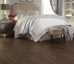 Moduleo Luxury Vinyl Plank Tectona Teak 24874 Modern Bedroom