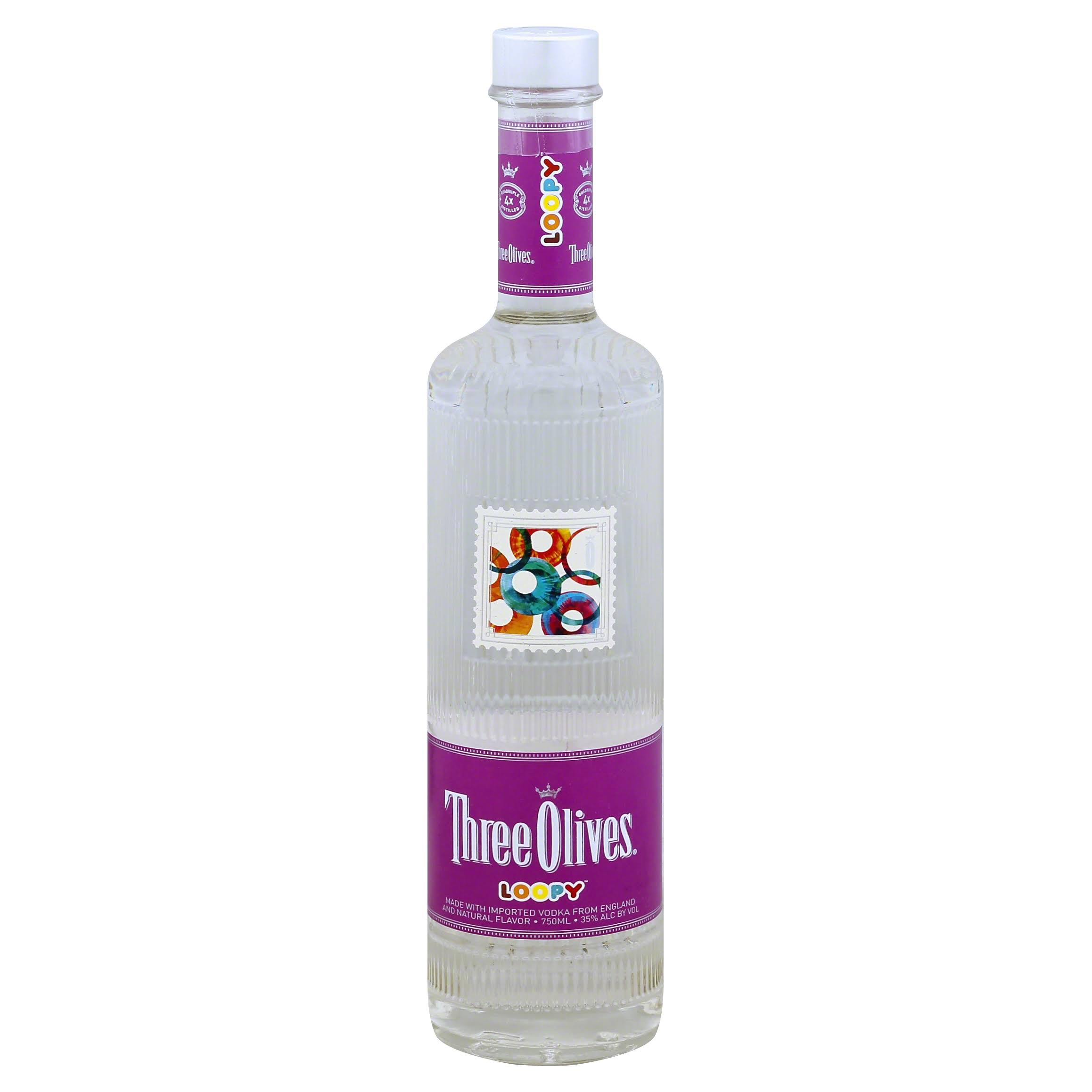 Three Olives Vodka - Loopy, 750 ml