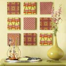 Fabric Wrapped Canvases For Wall Art