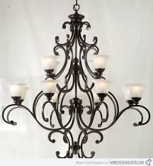 Creative Designs Black Wrought Iron Chandeliers 24 Dining Room