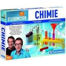 laboratoire de cuisine c est pas sorcier clementoni c est pas sorcier chimie jeux scientifiques achat