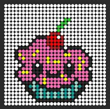 These Are Food Themed Bead Patterns Including Perler Sprites Kandi Cuff Peyote Stitch More