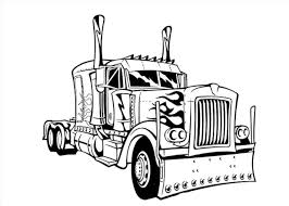 100 Mack Pickup Truck How Pickup Truck Outline Drawing To Draw A Mack Step By S