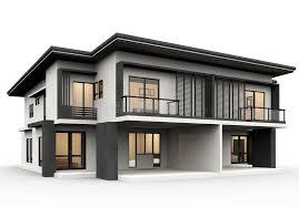 100 Modern House.com House Stock Illustration Illustration Of Facing 27558576