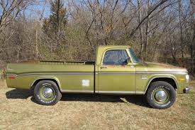 1971 Dodge D200 Camper Special Sweptline 3/4 Ton Pick Up Truck ...