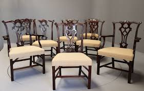 Set Of Eight Late 19th Century Chippendale Style Mahogany Dining ... Antique Set 10 Victorian Mahogany Balloon Back Ding Chairs 19th Of Six Century French Louis Xvi Cane Dutch Marquetry Inlaid Of 6 Legacy 12 Ft Flame Table 14 Chairs Room In Stock Photos Chairsgothic Chairsding Chairsfrench Fniture Single 2 Arm Late Hepplewhite Style Camelback 18th Walnut Chair With Queen Anne Legs English Cira 4 Turn The Century Ding In Wallasey Merseyside Gumtree 9776 Early Regency Vinterior