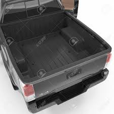100 Pick Up Truck Beds Up Bed Empty And Clear 3D Illustration Stock Photo