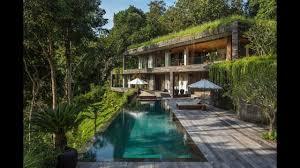 100 Chameleon House Luxury Jungle Residence In Bali Inspiring Twostory Concrete House