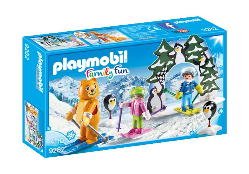 Playmobil 9282 Family Fun Ski School Play Set