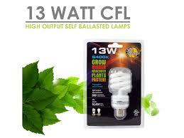 sunblaster compact fluorescent l light bulb 13watt sacred seed