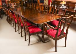 Vintage Dining Table By William Tillman, Harrods & 14 Queen Anne ...