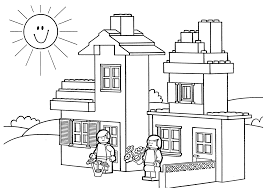 Pictures Lego Coloring Page 27 In Pages For Kids Online With