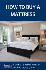 How To Choose A Mattress Tips for Finding the Perfect Bed