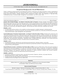 Maintenance Painter Resume Example Template Aircraft Technician Rh Mtcoptics Us Facilities Examples Coordinator