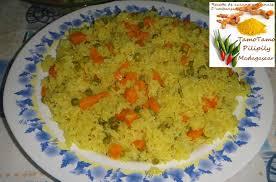 cuisine du riz cuisine artisanale d ambanja madagascar riz jaune aux légumes épicé