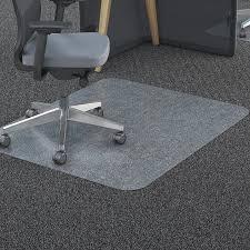 Carpet Chair Mat Walmart by Deflecto 36 X 48 Chair Mat For Carpet And Hard Floor Rectangular