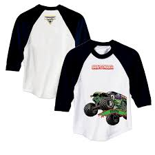 100 Monster Truck Shirts Jam Grave Digger Black Sports Jersey T Clothing