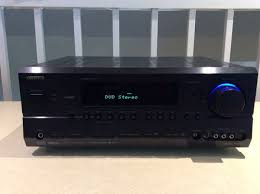 kyo TX SR604 7 1 Channel A V AV Home Theater Receiver with 2 12