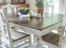 Chalk Paint Kitchen Table Painting Dining Room Annie Sloan Ideas