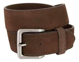 square buckle casual jean suede leather belt for men brown 30