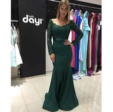 compare prices on long sleeve prom dresses dark green online