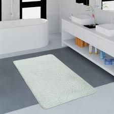 wunderschöner und pflegeleichter badezimmer teppich in creme