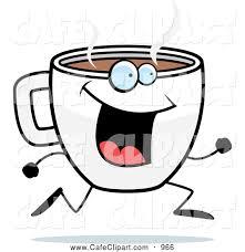 Caffeinated Coffee Clipart 1