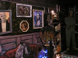 Haunted House Living Room