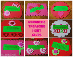Halloween Scavenger Hunt Clue Cards by Date Night With A Romantic Treasure Hunt The Tiptoe Fairy