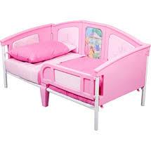 Disney Princess 3 in 1 Convertible Toddler Bed $70 walmart