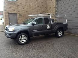 Toyota Tacoma And Tunder Aluminum Ladder Racks | RyderRacks ...