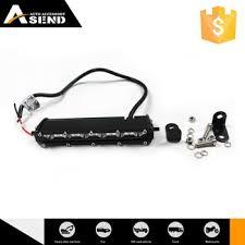 slim led light bar 18w led bar spot flood combo 7 single
