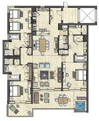 Elara One Bedroom Suite by Elara 4 Bedroom Suite Floor Plan Memsaheb Net