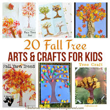 20 Beautiful Fall Tree Arts Crafts Ideas For Kids