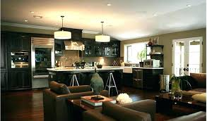 Living Room And Dining Room Combined Kitchen And Living Room Design