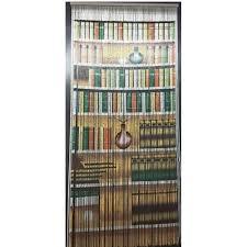 Natural Bamboo Beaded Door Curtain by Handcrafted Bamboo Beaded Door Curtains La Meva Casa