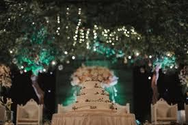 A Rustic Garden Themed Ballroom Wedding In Jakarta