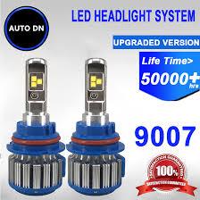 2PCS AUTO-DN 6000K Led Headlight High Beam Low Beam Light Bulb 9007 ... Automotive H11 Led Headlight Torchstar 5w T3 E12 Candelabra Base Led Bulbs40 Watt Incandescent Bulb Diode Dynamics Dd0144p Chevroletgmc Reverse Light Ultra Irulu H7 Led Headlight Bulbs Youtube 2007 2013 Gmc Sierra Upgrade With Dual Smd Lights Cree 9003hb2h4 Cversion Kit H4 Combo 9003 High Low Beam H16 Fog For Toyota Nighteye A314 60w 9000lm Car Household Truck Trailer Rv Lighting Bulbs Piaa