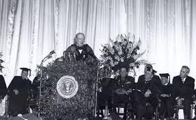 Winston Churchills Iron Curtain Speech Summary by Speech Quotes Like Success