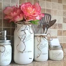 Mason Jar Kitchen Decor And R Set Housewarming Gift 31