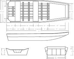 thopla nice aluminum jon boat plans free