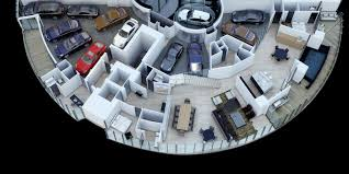 100 World Tower Penthouse Porsche Design Comes With A 11Car Garage On The