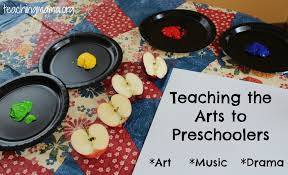 Teaching The Arts To Preschoolers Art Drama Music Creative
