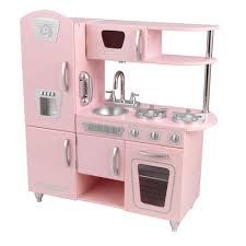 Kidkraft Grand Gourmet Corner Kitchen Play Set by Kidkraft Pink Vintage Kitchen Playset 53179 The Home Depot