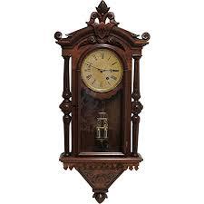 F Kroeber Regulator 30 Antique Wall Clock Drury House Antiques
